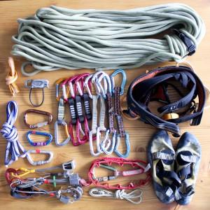 Kletterausrüstung, www.einfachmalraus.net