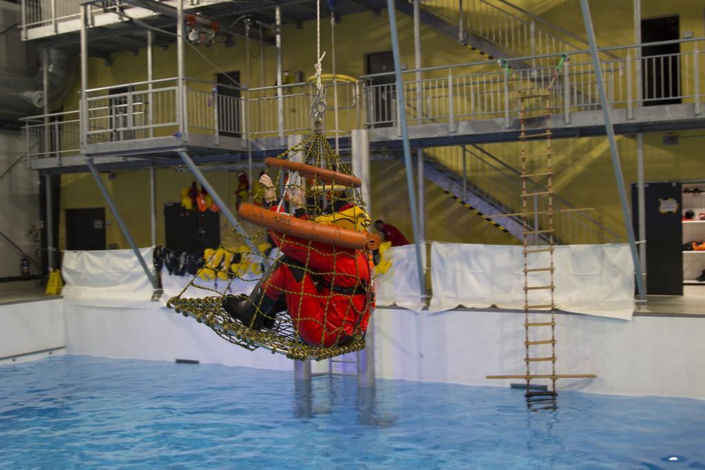 Hubschrauberrettungskorb, www.einfachmalraus.net
