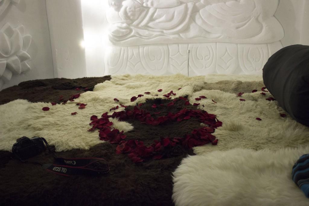 Das Bett im Iglu, einfachmalraus.net